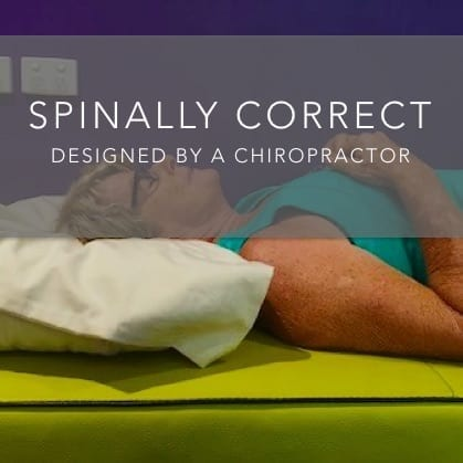 Spinally Corret Pillow designed by a Chiropractor - Killapilla Home Page Image