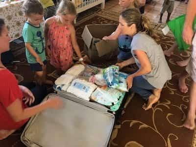 Delivering Supplies to Orphanage in Fiji