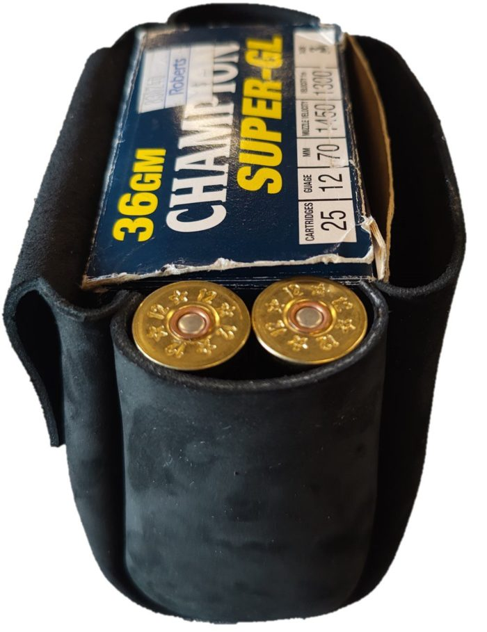 Shooters Cartridge Pouch Side