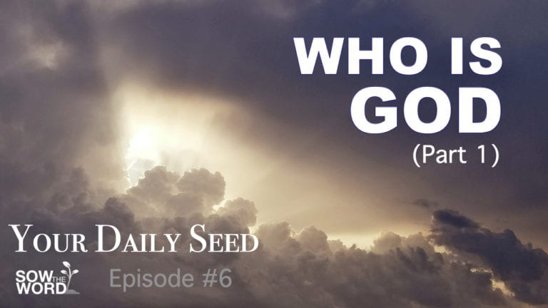 Who Is God? Part 1 by Daniel Lyne