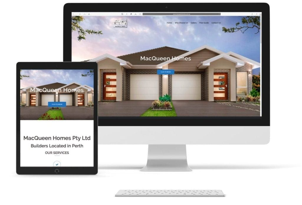 MacQueen Homes Website Bundle